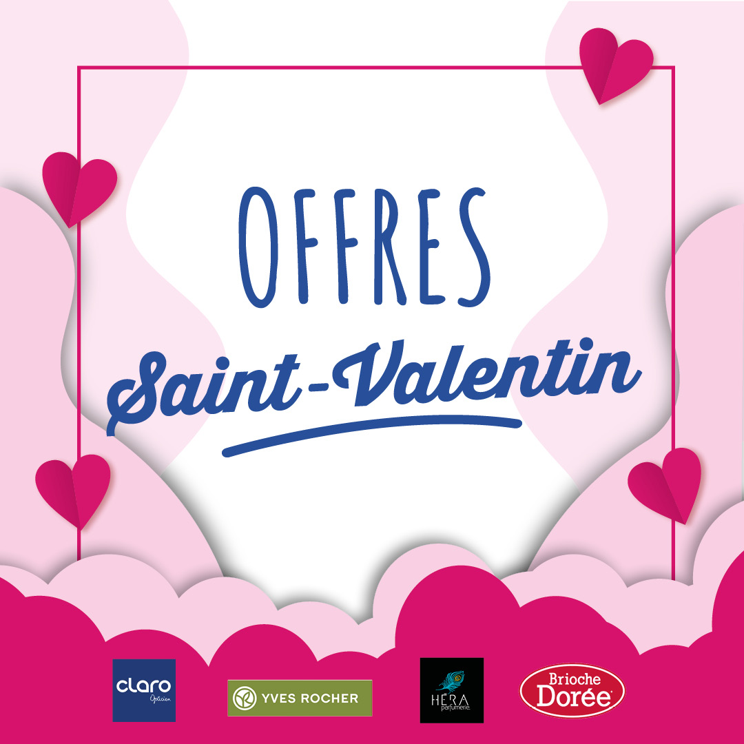 Les offres Saint-Valentin