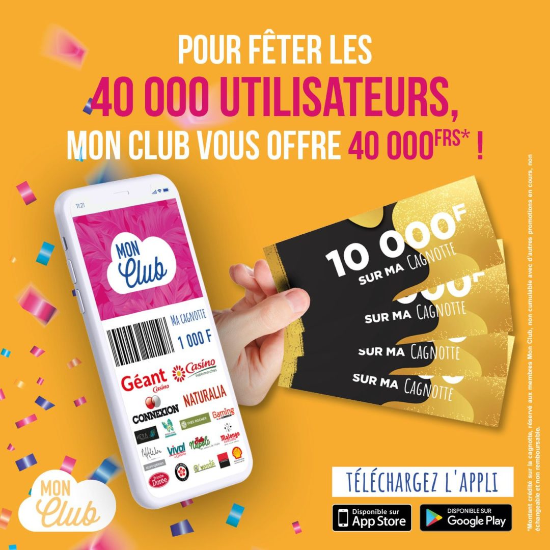 40 000 fois merci !