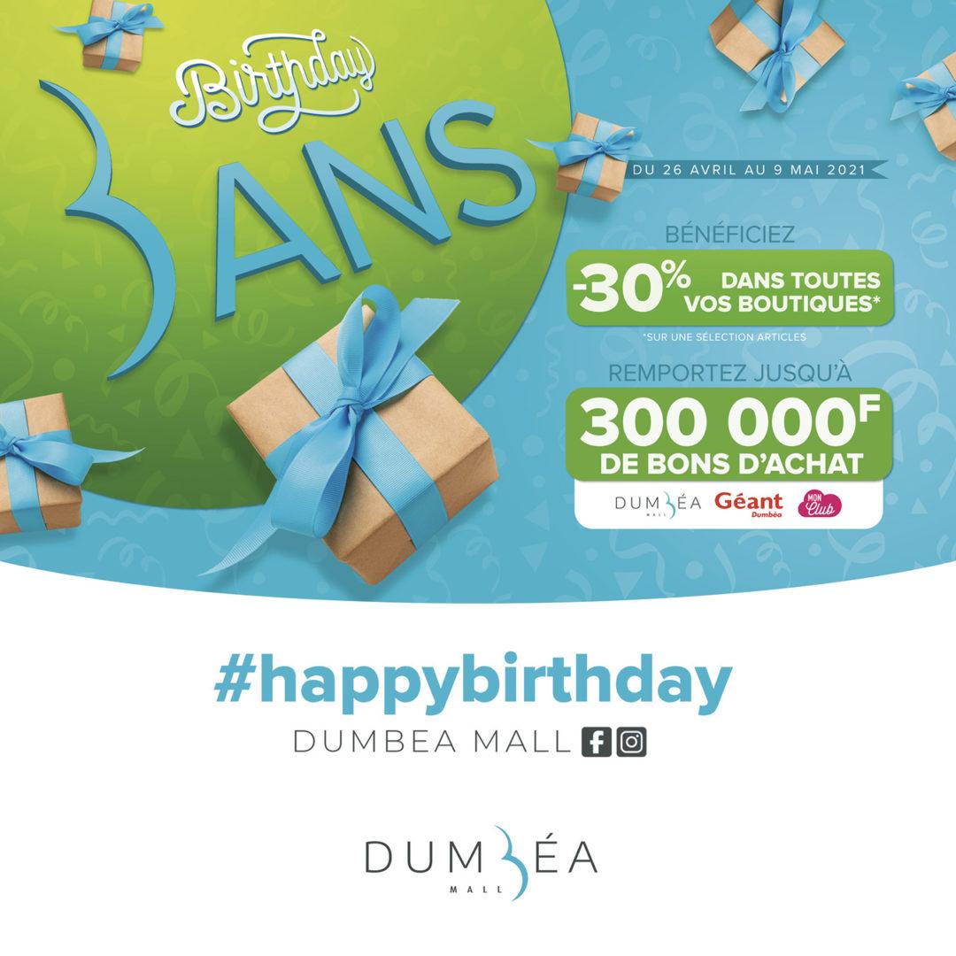 Bon anniversaire Dumbéa Mall !