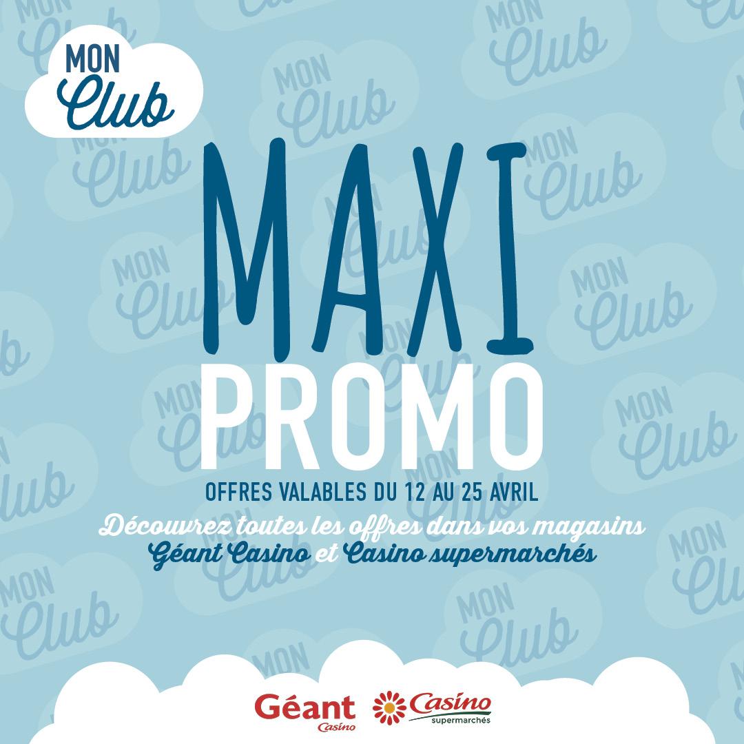 Les Maxi Promo sont de retour