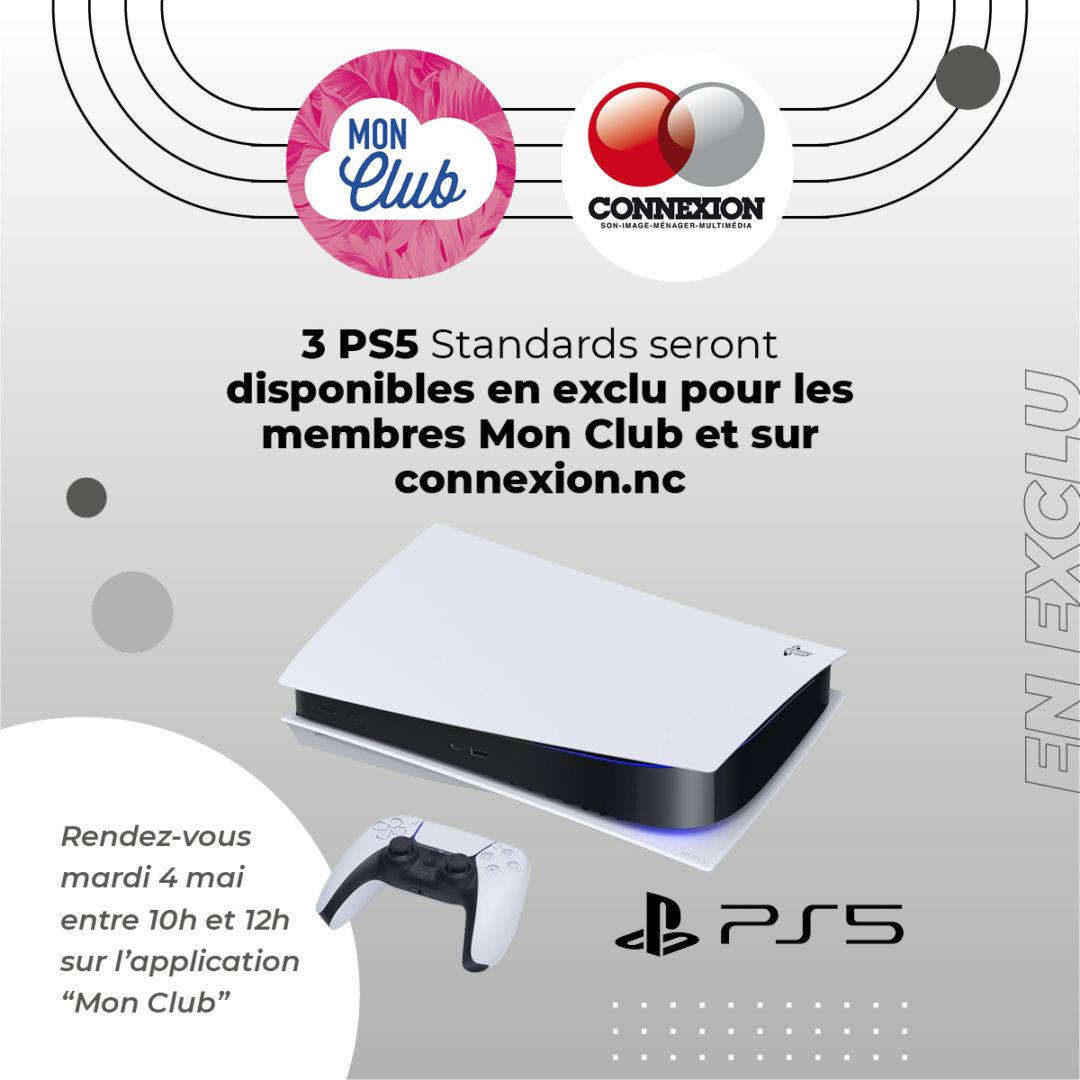PS5 – Exclusivité Connexion et membres Mon Club
