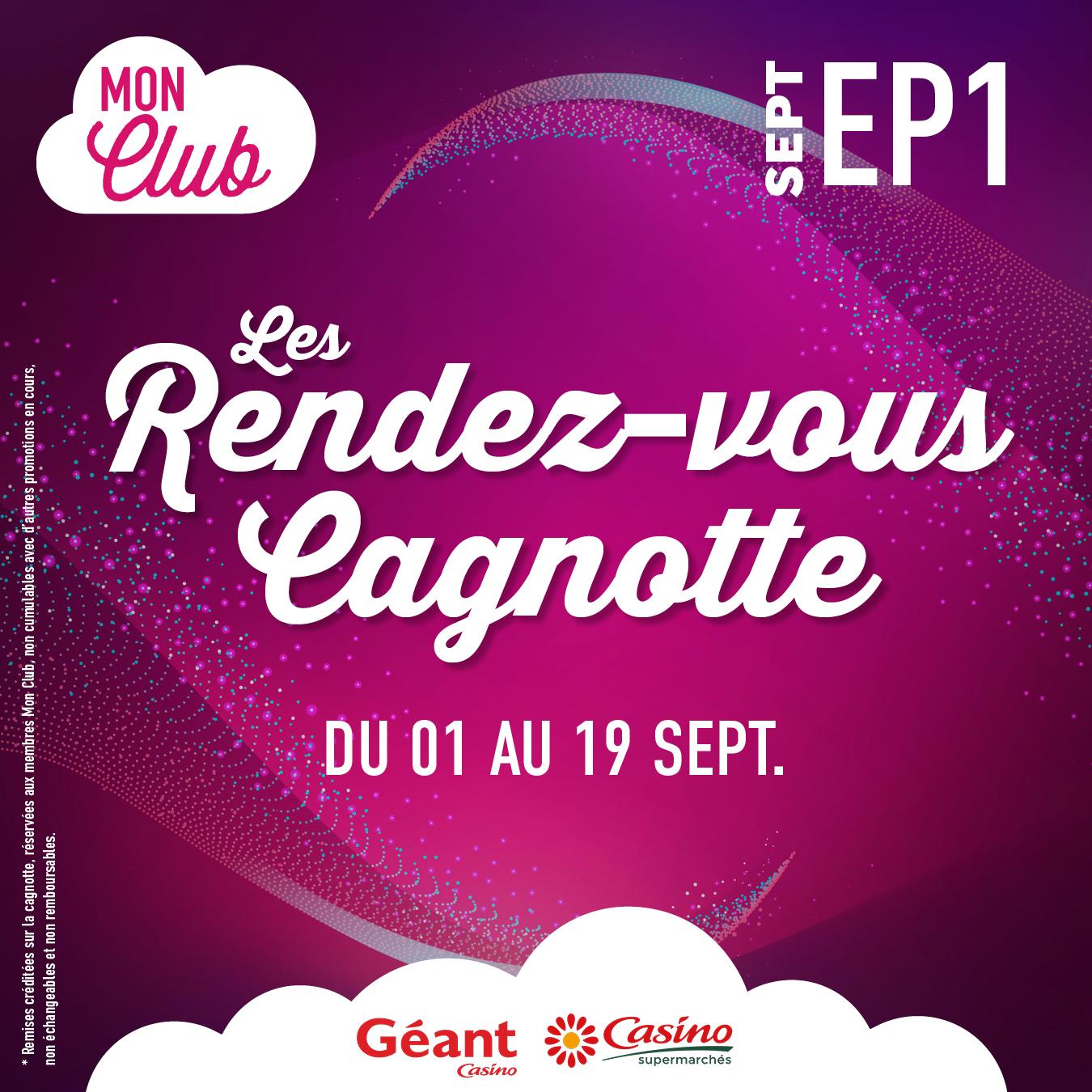 Les Rendez-vous Cagnotte – Septembre – Episode 1
